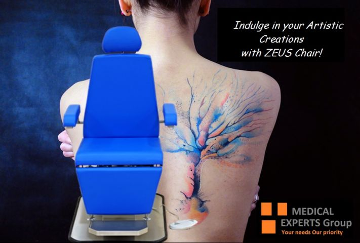 ZEUS Tattoo Chair: A Professional Artistic Tool